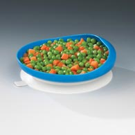 Ableware 745350012 Scooper Plate with Suction Cup Base by Maddak