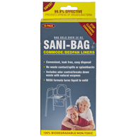 Sani Bag-Plus by Cleanwaste Commode Liners-100 Singles (H667S100)