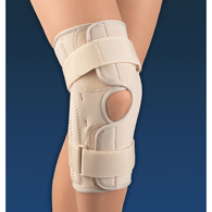 FLA Orthopedics 37-303 Soft Form Wrap Around Stabilizing Knee Support