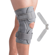 Swede-O 6454 Thermal Vent Open Wrap Hinged Knee Brace